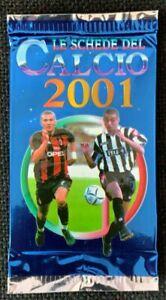 SEALED! 2001 CALCIO SERIE A MUNDICROMO TRADING CARD PACK (1) SOCCER FOOTBALL