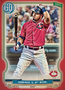 2020 Topps BUNT Luis Arraez Gypsy Queen RED Base ICONIC! [DIGITAL CARD}
