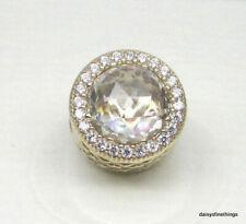 caa77ddd5 Authentic PANDORA 750843CZ Radiant Hearts Bead Spacer 14k Gold Charm