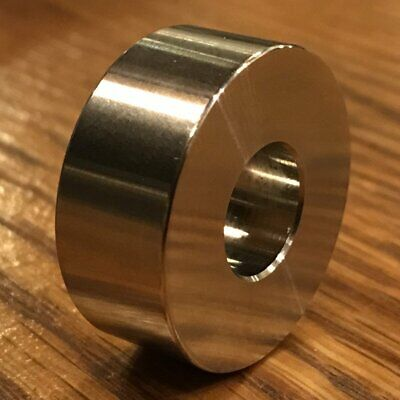 """extsw 7//16"""" ID x 7//8"""" OD x 2"""" thick 316 Stainless Spacer"""