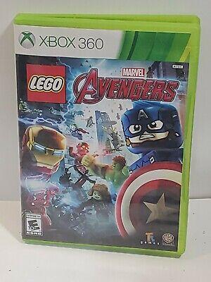 Lego Marvel Avengers Xbox 360 Game DISC ONLY Captain ...