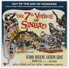 7TH VOYAGE OF SINBAD 1958  (DVD) FANTASY CYCLOPS DRAGON RAY HARRYHAUSEN