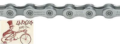 SHIMANO HG71 6-7-8-18-21-24 SPEED GREY MTB-ROAD BIKE CHAIN-WITH RETAIL PACKAGE