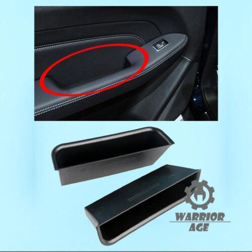 2Pcs Rear L/&R Door Handle Armrest Storage Box For Benz ML-Class 12-15 GLE GLS GL