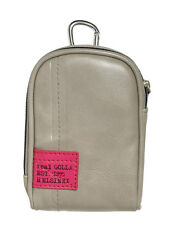 New Golla Universal Compact Digital Camera Case Bag Beige for Fuji Sony Samsung