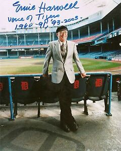 ERNIE-HARWELL-Detroit-Tigers-pp-SIGNED-8-x10-Photo-RIP