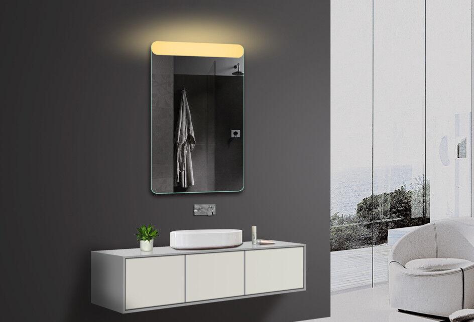 LED Beleuchtung Badezimmerspiegel Bad Lichtspiegel Warmweiß Kaltweiß Blautooth
