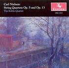 Nielsen: String Quartets, Opp. 5 & 13 (CD, Oct-1995, Centaur Records)