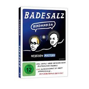 Sale-da-bagno-bindannda-Hessisch-Mystery-DVD-mi-hai-interrotto-cabaret-NUOVO