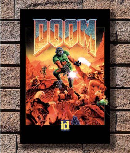 Doom Z3d8JnW Poster Fabric 8x12 20x30 24x36 E-1251