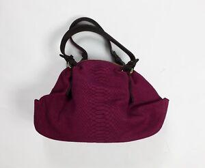 Dettagli su Coccinelle borsa stampa pitone fucsia nuova vera pelle 2 maniche tracolla T4133