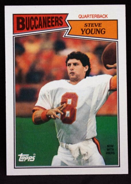 1987 Topps Steve Young Tampa Bay Buccaneers #384 Football Card