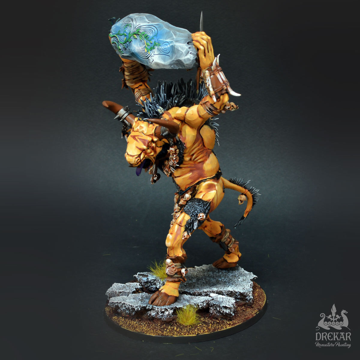 Cygor Beast of Chaos Age of sigmar    COMMISSION   painting 9a9ed5