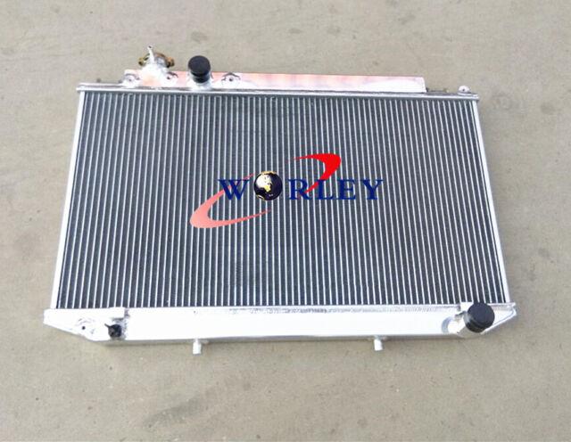 40mm aluminum radiator for Toyota Cressida MX83 1989-1993 Manual MT