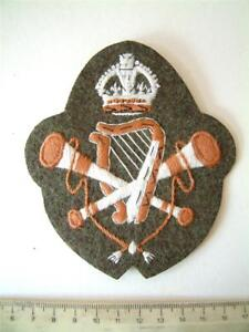 WW1 BRITISH ARMY MUSICIAN SLEEVE BADGE MUSICIANS CLOTH PATCH INSIGNIA