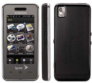 samsung m800 samsung instinct sprint smart cell phone bluetooth cdma rh ebay com Sprint Cell Phones Sprint Instinct S30