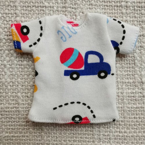 """1pc 1//6 Doll/'s T-Shirt for Blythe Dolls Causal Clothes For 11.5/"""" Doll Shirts Top"""