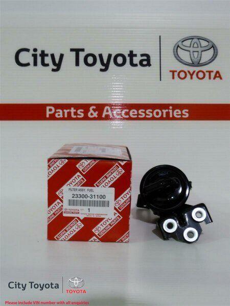 New Toyota Genuine Fuel Filter-Prado GRJ120/FJ Cruiser 1GRFE 2330031100
