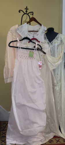 Lot Of 5 Vintage Nightgowns NOS