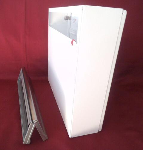 Boîte aux lettres usine portes intérieures complet set rence blanc lettre sans signature Acier Inoxydable kah81