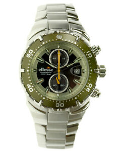 ellesse-Divers-Watch-Army-Green-Bezel-Special-Edition