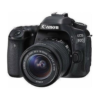 Canon EOS 80D EF-S18-55mm F3.5-5.6 IS STM Lens Kit Japan Domestic Version New