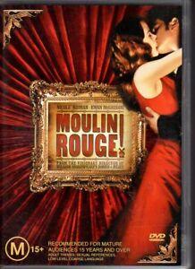 MOULIN-ROUGE-039-DVD-R4-2003-Nicole-Kidman-Ewan-McGregor-VG-FREE-POST