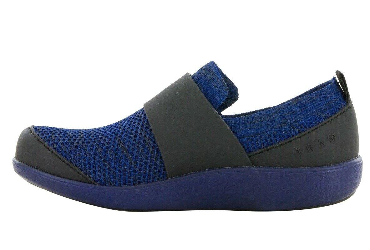 Alegria Por PG Lite Traq Qwik Resbalón en Zapatillas De Punto Azul Nuevo en Caja Wmns SUECO 39 Med 9 - 9.5