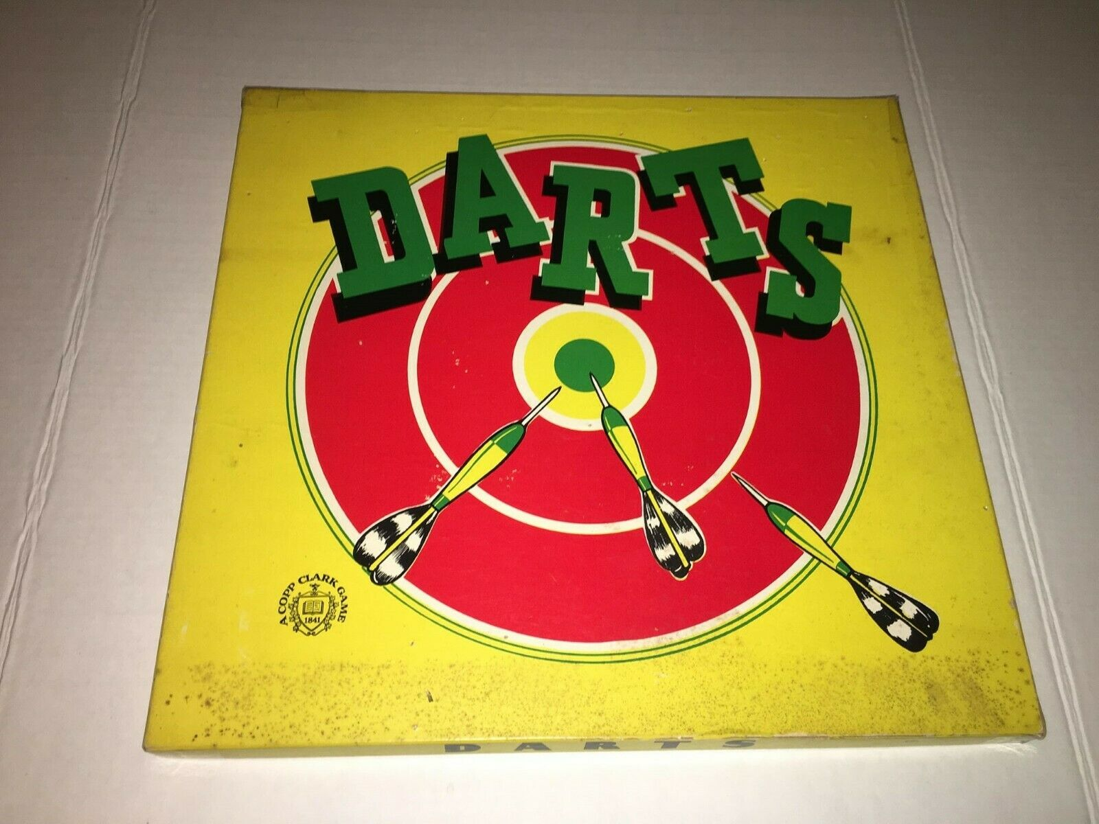 Vintage 1960's DARTS GAME A COPP CLARK GAME IN GREAT CONDITION WITH A RETRO LOOK