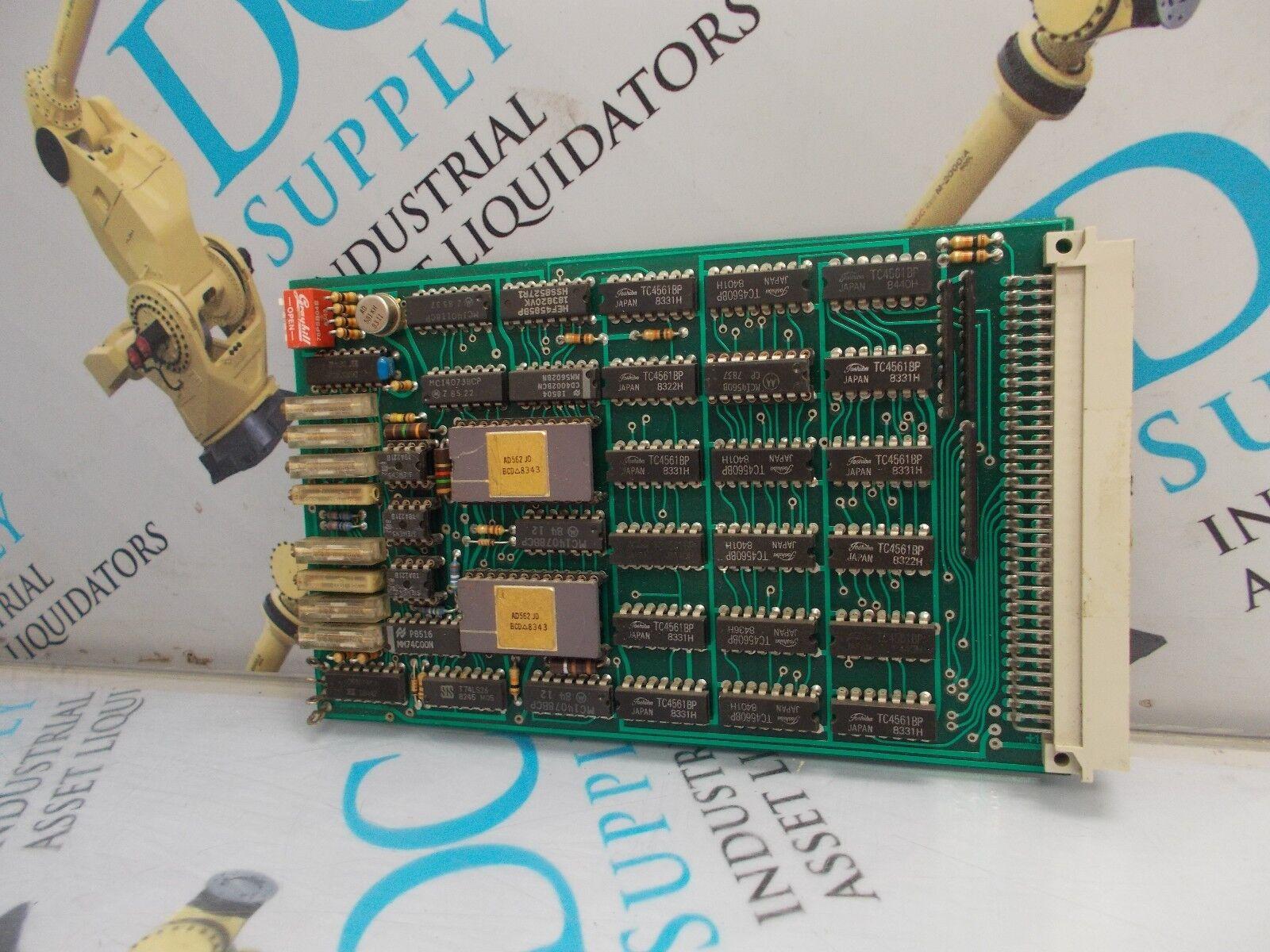 SIEMENS FRABA LP806E PC BOARD