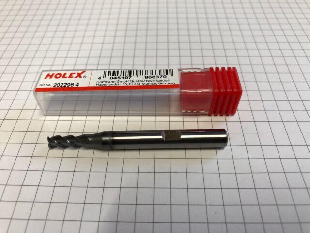 Holex VHM Fräser Ø4 202296