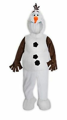 New Authentic Disney Store Olaf Costume from Frozen Sizes 2, 3, 4, 5/6 and 7/8