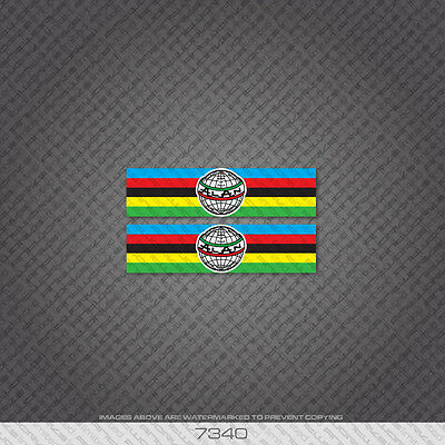 07336 ALAN Bicicletta Head Badge Adesivo-Decalcomania-Trasferimento