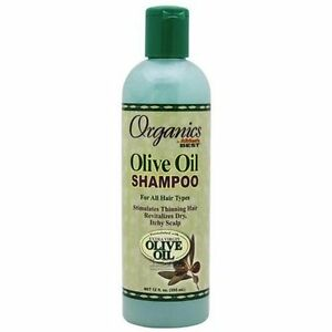 Africa-039-s-meilleur-Organique-huile-d-039-Ol-IVe-Shampooing-341ml