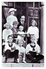 mm919 - King & Queen of Spain with their children - Royalty photo 6x4