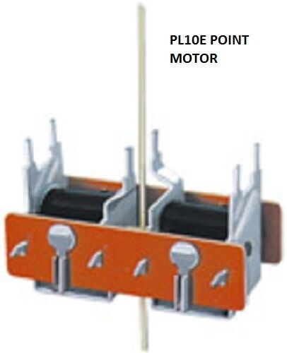 PECO LECTRICS-PL-10E-TURNOUT POINT MOTOR WITH PIN-LOOK!