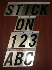 Image is loading Stick-on-3-5-034-Metal-Self-Adhesive- & Stick on 3.5