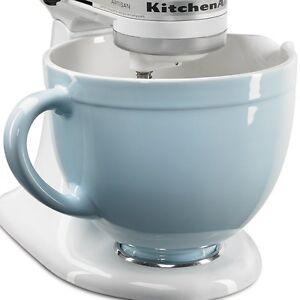 New Kitchenaid Ksmcb5gb 5 Qt Ceramic Mixing Bowl