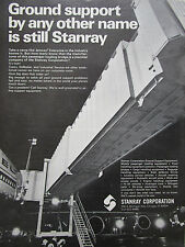 2/1972 PUB STANRAY CORPORATION JETWAY PASSENGER LOADING BRIDGE AIRPORT AD