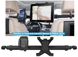 Streetwize Universal Car Headrest Bar Mount iPad / Tablet & Phone iPhone Holder