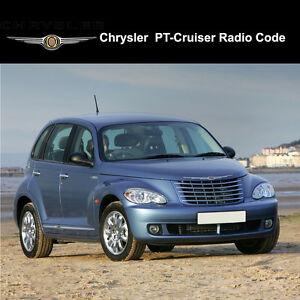 Image Is Loading Chrysler Pt Cruiser Radio Codes Stereo Pin