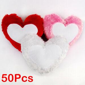 Sublimation Blank Heart Pillowcase