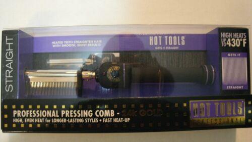 New Hot Tools Professional 1150 Pressing Comb / Multi-heat Control 280o - 430o