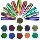 0.5g Glitter Magic Mirror Chrome Effect Dust Shimmer Nail Art Powder Decoration