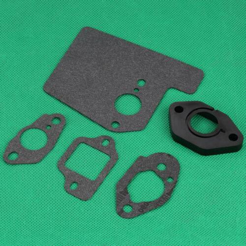 Carburetor Insulator Muffler Gasket Kits For Honda GCV160 GCV190 GSV190 Engine