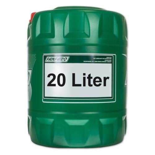 1x20 20 HLP 46 Hydraulic Oil Fluid Medium Litre Fanfaro Hydro ISO 46