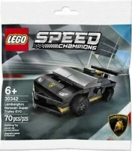 Lego Speed Champions 30342 Lamborghini Huracán Super Trofeo EVO New Sealed
