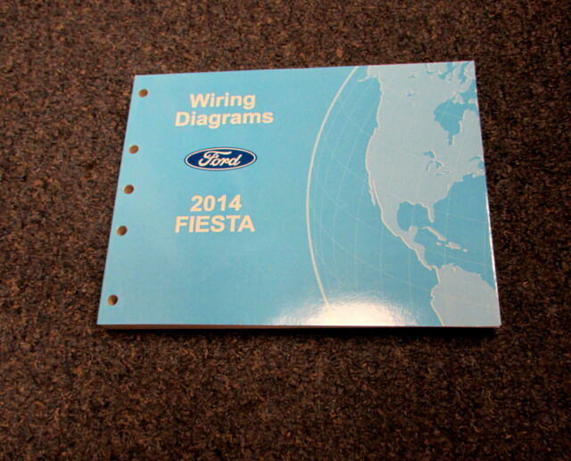 2014 Ford Fiesta Electrical Wiring Diagrams Service Manual