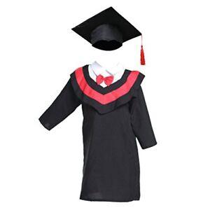 BESTOYARD-Graduation-Gown-and-Cap-Doctoral-Cap-and-Gown-for-Children-Kids-130cm