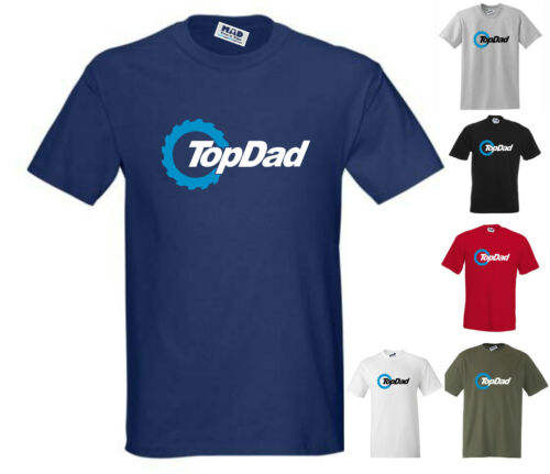 Small to 5XL TOP DAD Novelty Funny T-Shirt Fathers Day // Christmas Pressie